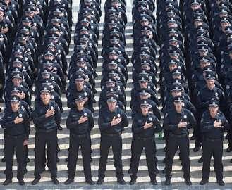 На праздники охранять Харьков будут тысячи полицейских
