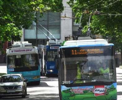Ремонтные работы изменят ход харьковским троллейбусам