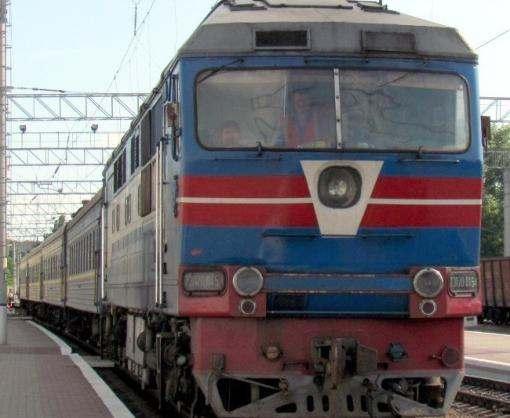 Поезд в Кривой Рог пойдет через Днепр