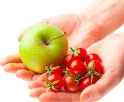 Определена сохраняющая здоровье порция овощей и фруктов