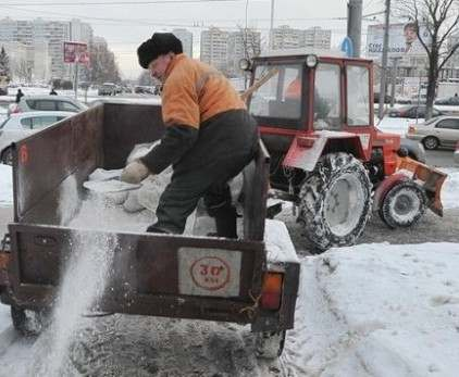 Харьковская область заготавливает сотни вагонов соли