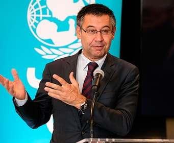 Президент «Барселоны» прокомментировал ситуацию с контрактом Месси