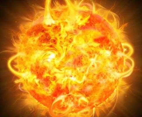 На Солнце произошла еще одна мощная вспышка