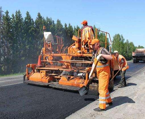 В Харькове ремонтируют окружную дорогу