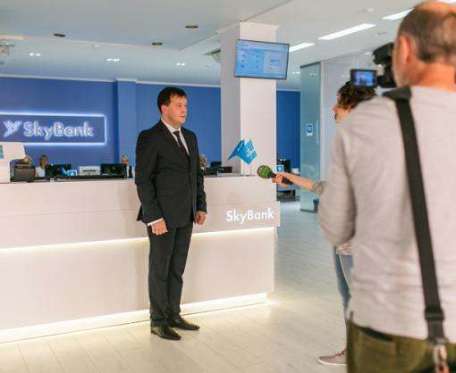 Sky Bank открыл новое флагманское отделение в Харькове на ул. Рымарская 10 ®