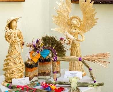 В Харькове открылась выставка декоративных изделий из природных материалов