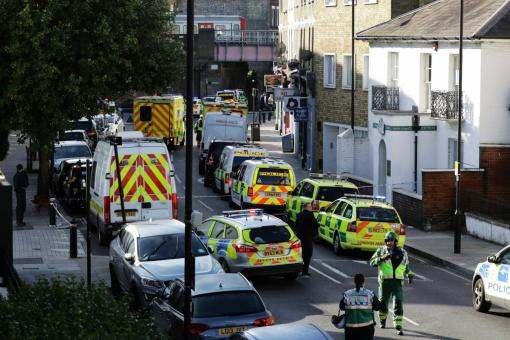 На Лондонской железнодорожной станции произошел взрыв