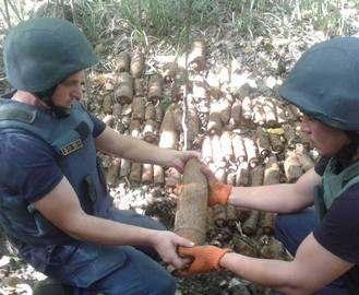 Грибник наткнулся на снаряды в Харьковской области