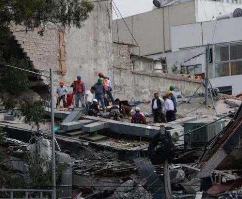 Мощное землетрясение в Мексике: количество погибших может достичь тысячи (видео)