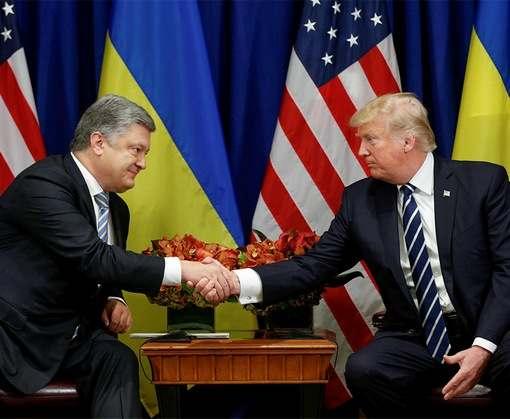 Что обсуждали на встрече в Нью-Йорке Петр Порошенко и Дональд Трамп