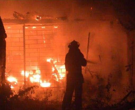 Пожар в Харькове: на Салтовке сгорела пилорама