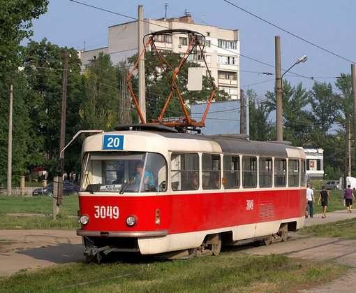 По Университетской не будут ходить трамваи