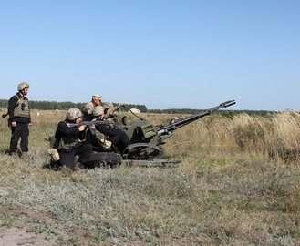 Под Харьковом стреляли