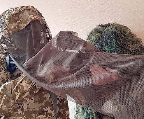 У украинских снайперов появится новый маскировочный костюм