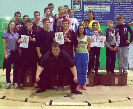 Харьковские сумоисты вернулись с чемпионата Украины