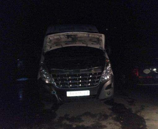 В Харькове сгорели сразу три машины
