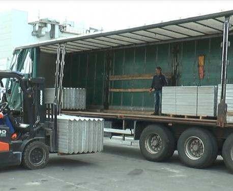 В Винницу из Харьковской области отправили груз со стройматериалами
