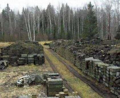 В Калиновке уничтожено больше снарядов, чем в Донбассе