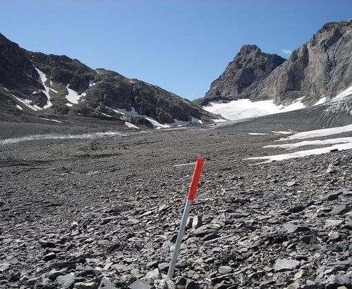 В Швейцарских Альпах нашли ящик с мукой возрастом 4 тысячи лет