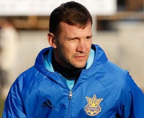 Андрей Шевченко попросил ФФУ организовать для сборной два товарищеских матча