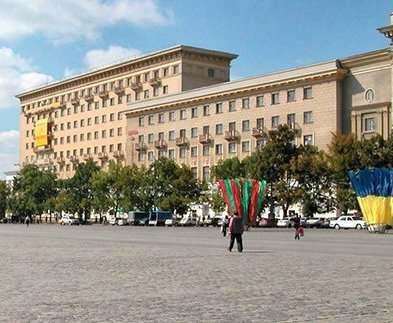 В Харькове перекрыта площадь Свободы
