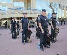 Полиция окружает стадион в Харькове