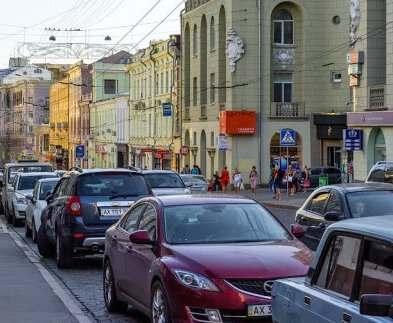 В Харькове собираются ликвидировать неправильные парковки