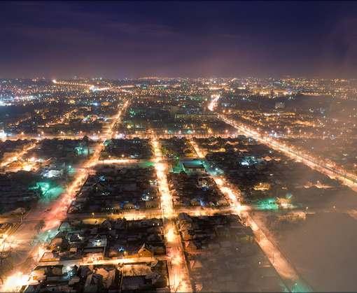 Ночной Харьков шокирует: видео