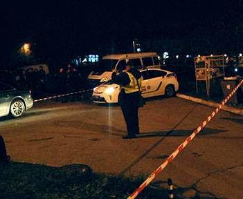 Убийство в Харькове: на Клочковской обстреляли машину (фото, видео)