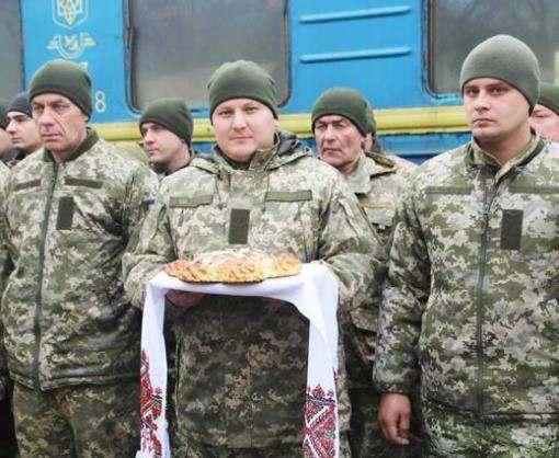 В Харьковскую область вернулись бойцы из зоны АТО