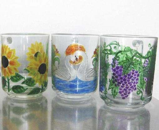 Чем опасна для здоровья стеклянная посуда с цветными рисунками