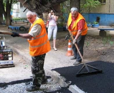 В Харькове нашли деньги на ремонт дорог возле кооперативных домов