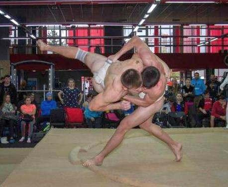 Харьковские сумоисты выиграли домашний Кубок Украины