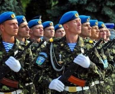 В Украине перенесли празднование Дня десантника