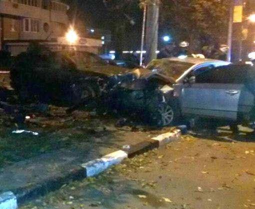 В центре Харькова произошла крупная авария с пострадавшими
