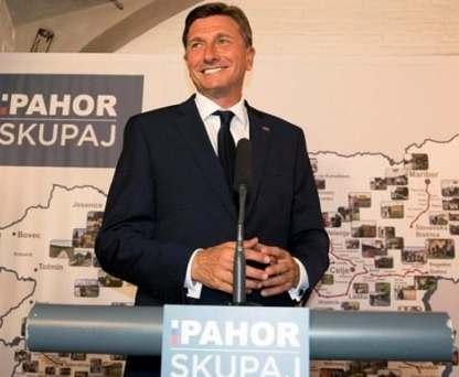 Президента Словении переизбрали на второй срок