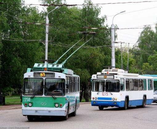 Маршрут харьковcкого троллейбуса изменил кран