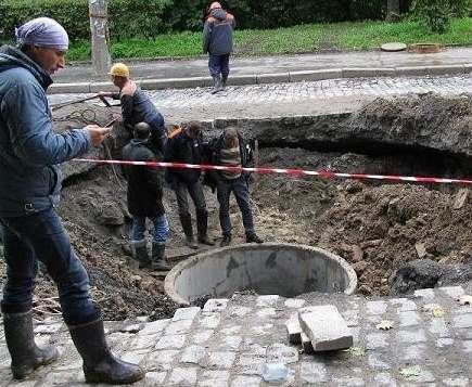 На границе двух районов Харькова жители остались без тепла