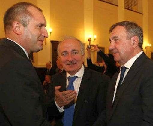 Президент Болгарии встретился с ректором харьковского вуза