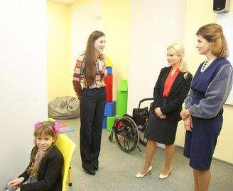 В школе открылась первая в Харьковской области ресурсная комната