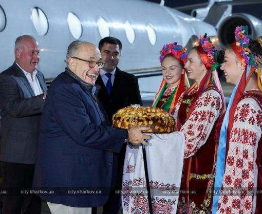 Советник Дональда Трампа прибыл в Харьков делиться опытом Нью-Йорка