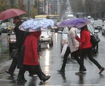 Погода в Харькове: и дождь, и снег