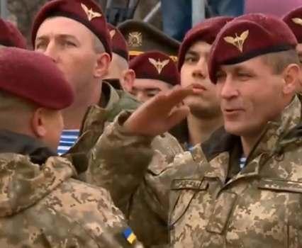 Украина впервые отмечает День десантника 21 ноября