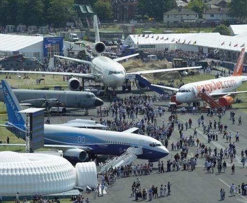 России запретили выставлять военную технику на авиасалоне Farnborough