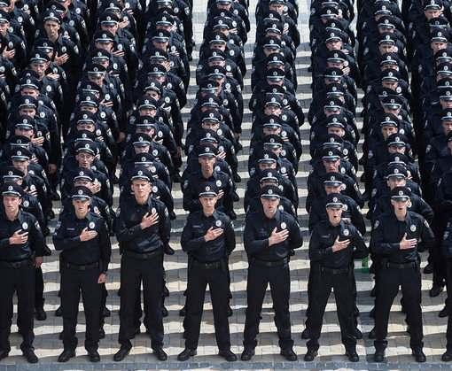 На патрулирование Харькова вышла Нацгвардия