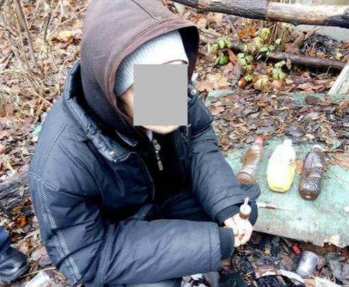 На ХТЗ поймали наркоманов