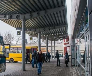 В Харькове на «Индустриальной» откроют автобусный терминал