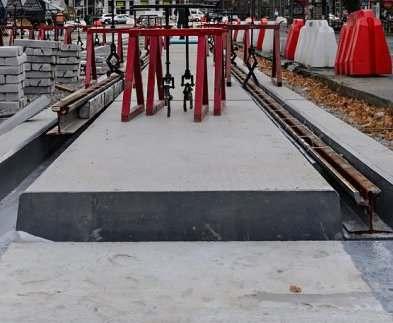 В Харькове будут реконструированы еще несколько трамвайных переездов