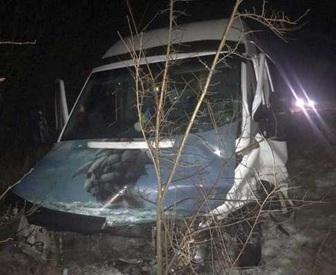 ДТП в Харьковской области: пострадали семеро пассажиров