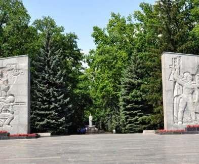 Вход на Мемориал в Харькове преобразится до конца года